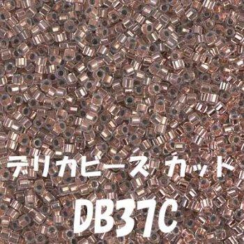 デリカビーズ DB37C 20g ガラス スキ、ツヤ有り
