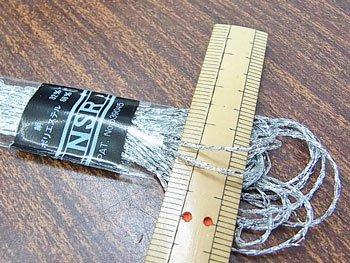 マイラー NSR刺繍糸 銀 ラメ 刺しゅう糸