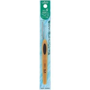 クロバー レース針 ペン-E No.8 41-608