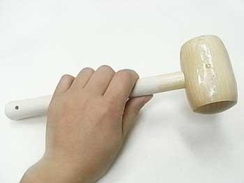 手芸用 木づち・木槌・タイコ