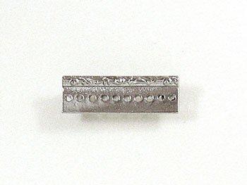 デリカビーズ織り用金具 ブローチ金具レリーフ3cm BR-6 S