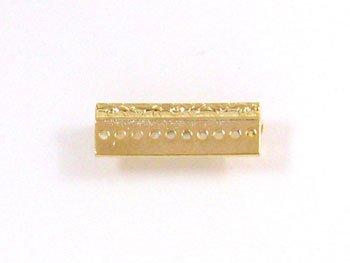 デリカビーズ織り用金具 ブローチ金具レリーフ3cm BR-6 G