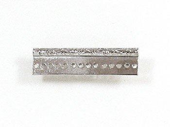 デリカビーズ織り用金具 ブローチ金具レリーフ4cm BR-7 S