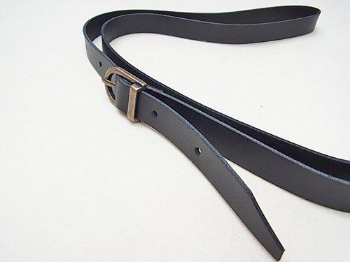 ジャスミン 本皮ショルダータイプ持ち手 S1015 黒 幅約1.5cm 約1m 【参考画像2】