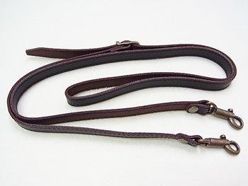 ジャスミン 本皮ショルダー持ち手 S2012 焦茶 幅約1.2cm 約1.2m