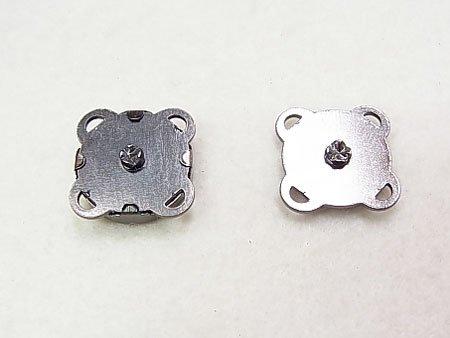 マグネットホック 縫い付けタイプ BN ブラックニッケル No.3002 【参考画像1】