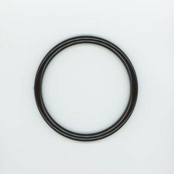 ジャスミン プラリング持ち手 丸型P273-小 黒 外径約10.5cm