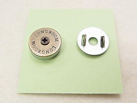 ネジ式マグネットホック JTMP-93 AG ボタン柄 【参考画像1】