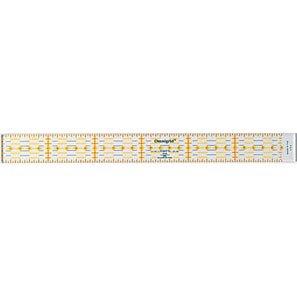 クロバー オムニグリッド定規 3x30cm 57-619