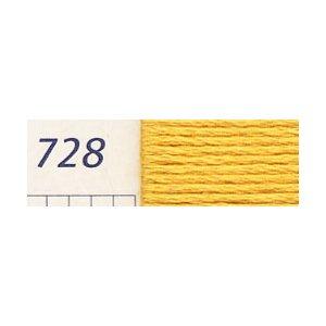 DMC刺繍糸 25番刺しゅう糸 728