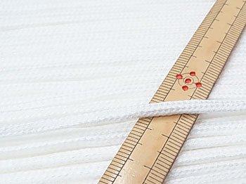 アクリルひも 白 太さ約3mm 1反約50m 【参考画像1】
