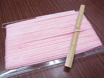 アクリルひも 薄ピンク 太さ約3mm 1反約50m