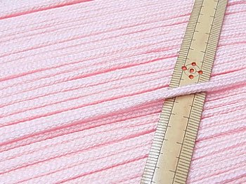 アクリルひも 薄ピンク 太さ約3mm 1反約50m 【参考画像1】