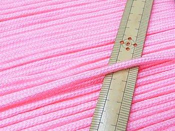 アクリルひも ピンク 太さ約3mm 1反約50m 【参考画像1】