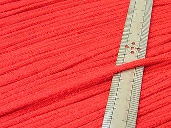 アクリルひも 明るい赤 太さ約3mm 1反約50m 【参考画像1】
