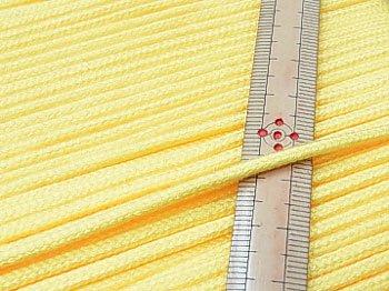 アクリルひも 黄色 太さ約3mm 1反約50m 【参考画像1】