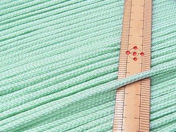 アクリルひも ミント系 太さ約3mm 1反約50m 【参考画像1】