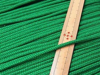 アクリルひも 緑 太さ約3mm 1反約50m 【参考画像1】
