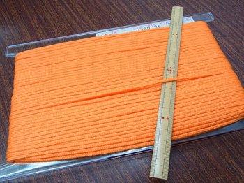 アクリルひも オレンジ 太さ約3mm 1反約50m