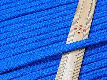 アクリルひも 青 太さ約5x3mm 1反約50m