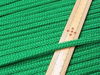 アクリルひも 緑 太さ約5x3mm 1反約50m