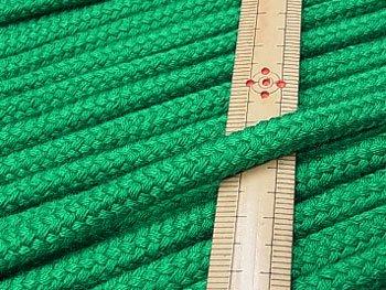アクリルコード スピンドル紐 緑 太さ約7x4mm 1反約25m