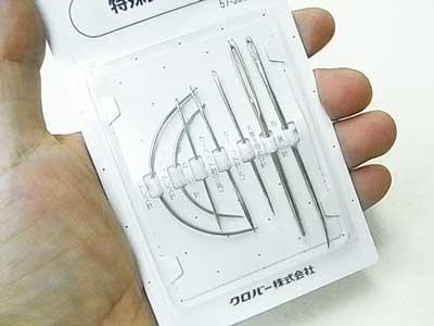 クロバー 57-305 特殊針セット 5袋セット 【参考画像2】