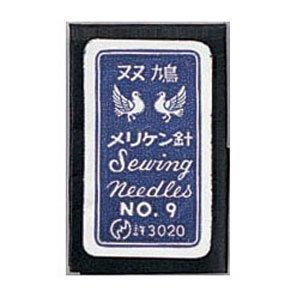 クロバー 12-244 双鳩メリケン針 No.9 5袋セット