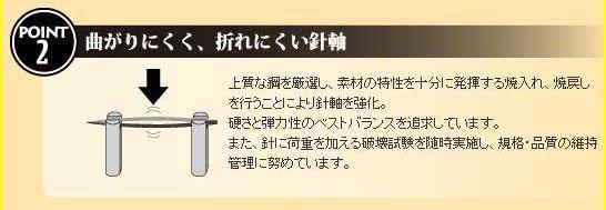 クロバー 57-152 キルティング針 ブラックNo.12 5袋セット 【参考画像2】