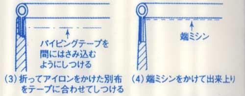キャプテン パイピング バイアステープ CP7-302  【参考画像3】