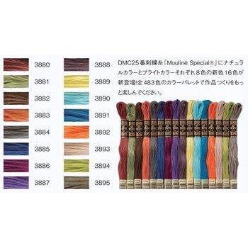 DMC刺繍糸 25番 新色 2014年