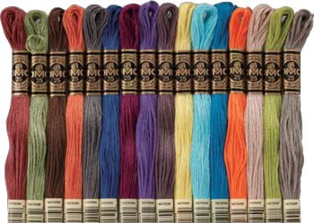 DMC刺繍糸 25番 新色 16色セット
