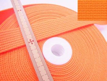 No.225 アクリルカラーテープ オレンジ 25mm幅 厚さ約2mm
