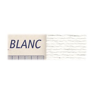 DMC刺繍糸 25番 BLANC