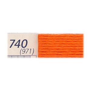 DMC刺繍糸 25番刺しゅう糸 740