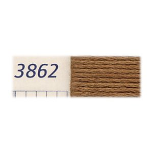 DMC刺繍糸 25番刺しゅう糸 3862