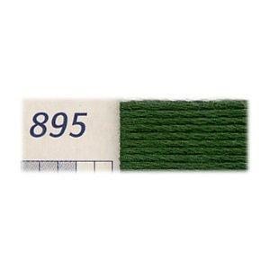 ■廃番■ 購入不可|DMC刺繍糸 25番 895