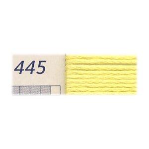 DMC刺繍糸 25番刺しゅう糸 445