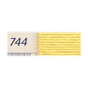 DMC刺繍糸 25番刺しゅう糸 744