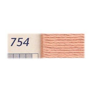 DMC刺繍糸 25番刺しゅう糸 754