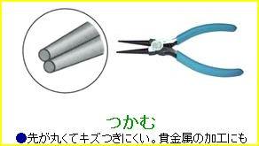 美鈴 HT-006 ミニコーンプライヤー 手芸用コーンプライヤー 5個セット 【参考画像3】
