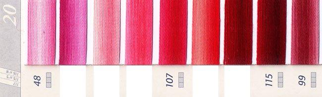DMC刺繍糸 25番 段染め・グラデーション 1 【参考画像2】