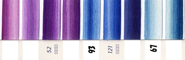 DMC刺繍糸 25番 段染め・グラデーション 1 【参考画像3】