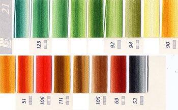 DMC刺繍糸 25番 段染め・グラデーション 2