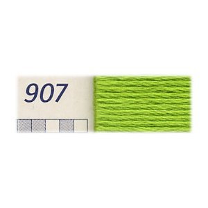 DMC刺繍糸 25番 907