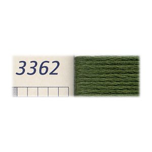 DMC刺繍糸 25番刺しゅう糸 3362