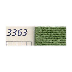 DMC刺繍糸 25番刺しゅう糸 3363