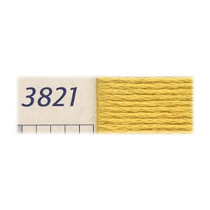 DMC刺繍糸 25番刺しゅう糸 3821