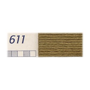 DMC刺繍糸 25番刺しゅう糸 611