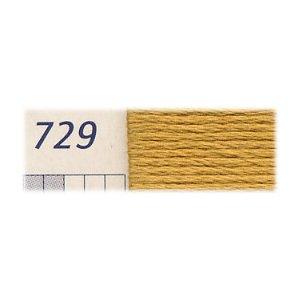 DMC刺繍糸 25番刺しゅう糸 729